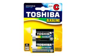 BATTERIES TOSHIBA LR14C